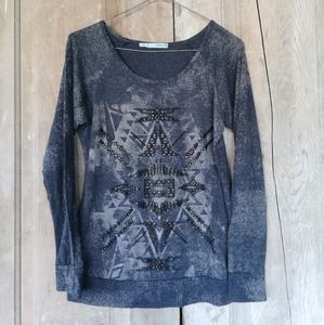 Maurices Gray Top